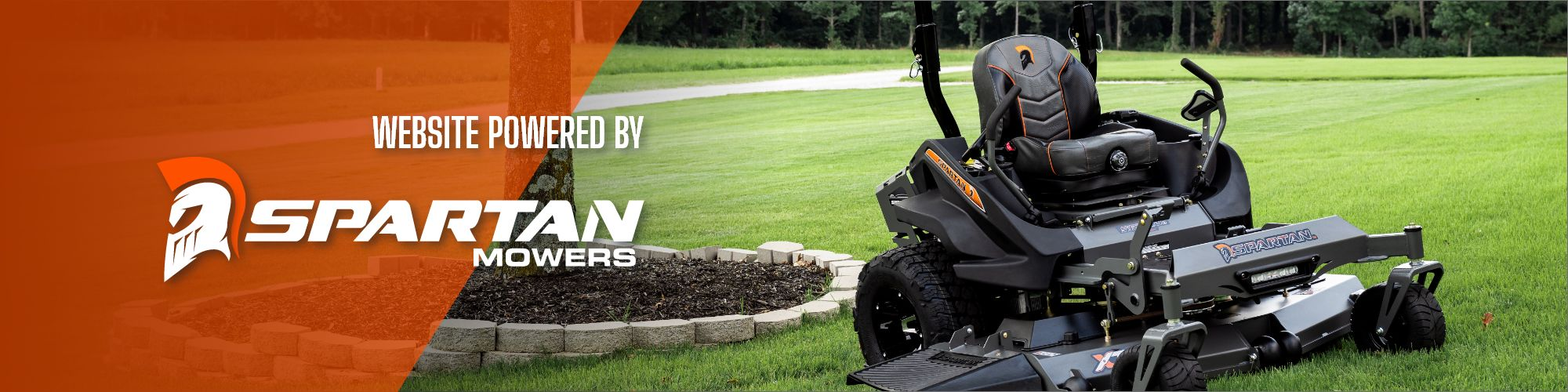 Website Powered By Spartan Mowers